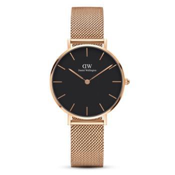 DanielWellington/丹尼尔惠灵顿简约时尚钢带女士手表