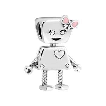 PANDORA潘多拉银白色贝拉机器人串饰797141EN160