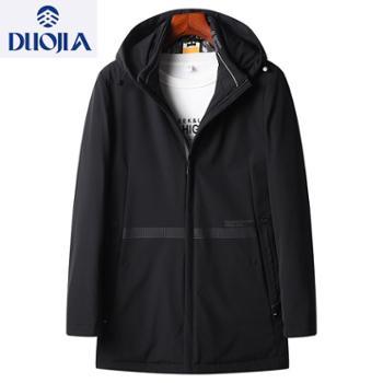 多佳冬季中长款夹克薄棉外套加厚外套男装310059