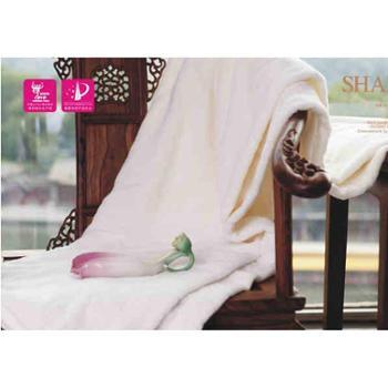 尚桑子珊瑚绒蚕丝护肤毯S5-182-1