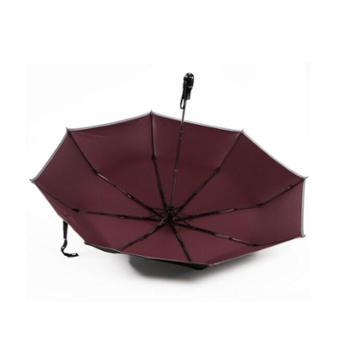 喜途(XITU)商务雨伞晴雨伞遮阳伞防紫外线折叠太阳伞逃生安全伞男女士加大XT1512B+弹击式汽车安全伞 晴雨两用男女通用加大安全保护伞25吋超强
