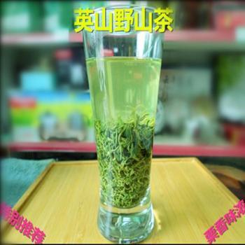 2019新茶英云雾茶高山茶英山绿茶浓香英山野山茶100g