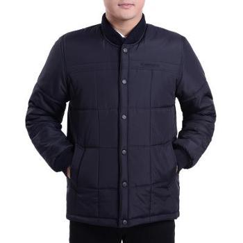 冬季中年男士棉衣加厚保暖外套棉服中老年人男装棉袄爸爸冬装新款