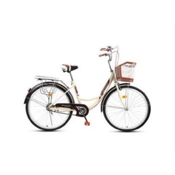 (测试商品,请勿下单)自行车女通勤单车普通老式城市复古轻便代步