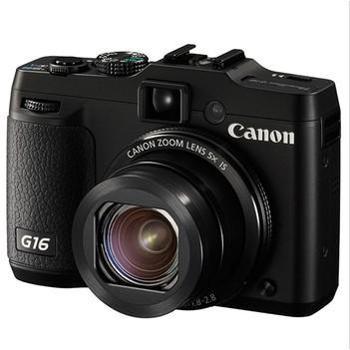 佳能(Canon) PowerShot G16 数码相机 黑色