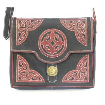 藏族纯牦牛皮全手工包拉萨佳诚民族手工艺品公司