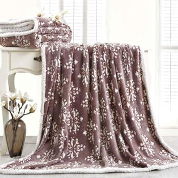 KINTHERI/金丝莉唛酷韩绒毯盖毯子沙发午睡毯