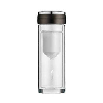 VENES菲驰玻璃杯 德国品牌 400ml 科莱恩逆龄净水玻璃杯 水杯 净水杯