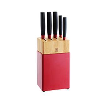 双立人ZWILLINGNowS系列刀具6件套(红黑)ZW-K308