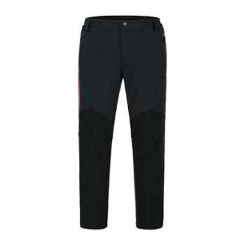 沃可22ND男款撞色拉链设计防风保暖抗静电复合裤521112703