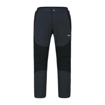 沃可22ND男款膝部耐磨布设计防风保暖抗静电复合裤521112704