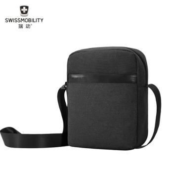 瑞动(SWISSMOBILITY)防泼水休闲单肩挎包