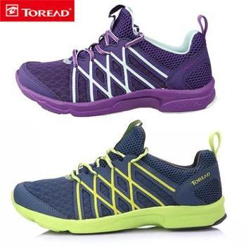 探路者男鞋情侣登山鞋款徒步鞋男式营地鞋女式TFJE82701/KFEF82328(新)