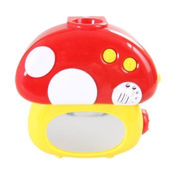 澳贝蘑菇投影床铃(有夜灯模式)带镜子463218
