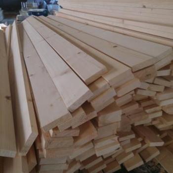 床板条定制木板实木硬加厚抛光排骨架固定原木木料铺板直销松木