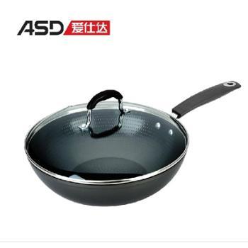 包邮 ASD/爱仕达 炒锅 不粘锅 无烟不粘锅炒锅 30cm陶瓷炒锅WG8330N