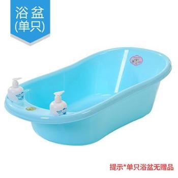 贝喜婴儿洗澡盆宝宝新生儿浴盆可坐躺通用儿童洗澡桶加大号加厚沐浴盆