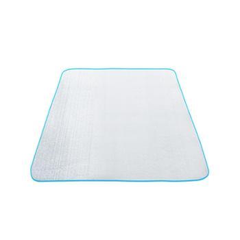 探险者户外防水免洗双人多人防潮垫两面铝箔防潮野炊地垫睡垫爬垫