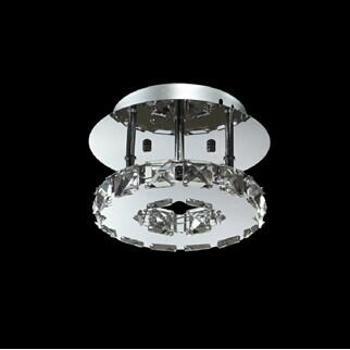 三雄极光 晶颖 8W LED 吸顶水晶灯