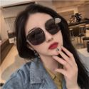 梵妮莎时尚眼镜女大框长方形墨镜女F2351