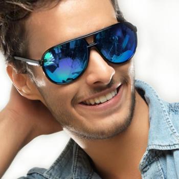 梵妮莎男士紫外线太阳镜大框户外眼镜墨镜4125