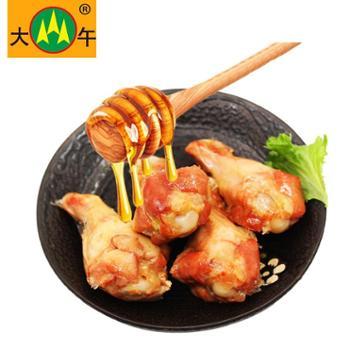 河北大午蜜汁小鸡腿8个*35g鸡翅根休闲鸡肉零食