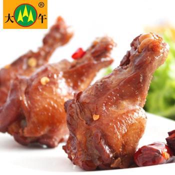 大午香辣小鸡腿35g*8个280g休闲办公鸡肉零食