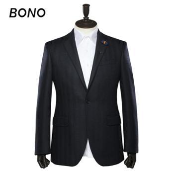 BONO西服定制!商务时尚新郎结婚礼服单西男士西装职业修身正装