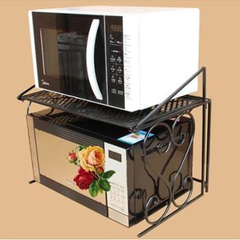 欧式微波炉架烤箱架厨房置物架收纳架