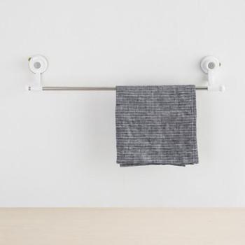 【进口包邮】韩国毛巾架无痕防水强力吸盘毛巾挂架(3KG)