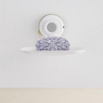 【进口包邮】韩国Glaster香皂盒无痕防水强力皂盒挂架