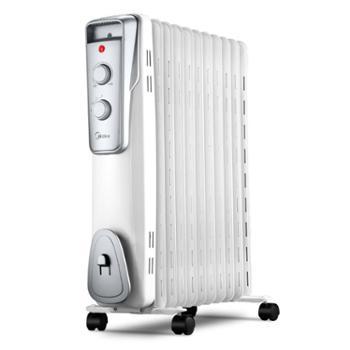 美的取暖器暖风机家用 电暖器电暖气电暖风节能 电暖炉油汀烤火炉