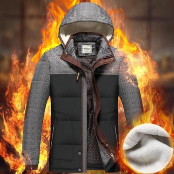 冬季男士棉衣加绒加厚大码棉服青年韩版男式保暖棉服外套保暖棉服