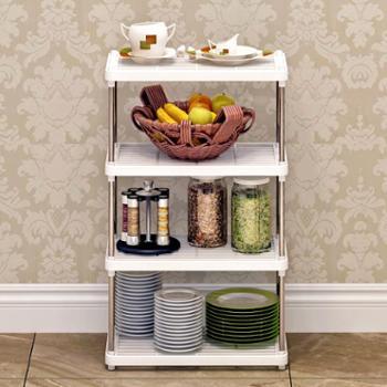 索尔诺置物架厨房层架塑料收纳储物架