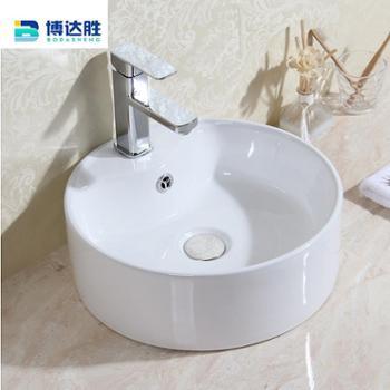 洁具台上盆陶瓷洗手盆卫浴洁具欧美家装支架洗i面盆
