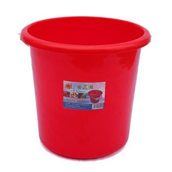 武汉东林 塑料铁把拎水桶耐摔加厚储水桶清洁保洁 697型桶