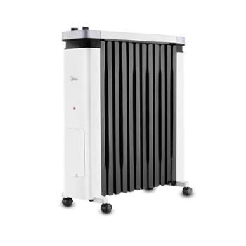 美的(Midea)取暖器NY2212-18C取暖器油汀12片速热电暖气加宽暖气片