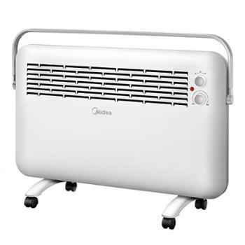 美的(Midea)NDK22-15D1取暖器对衡式暖风机家用办公室防水电暖器