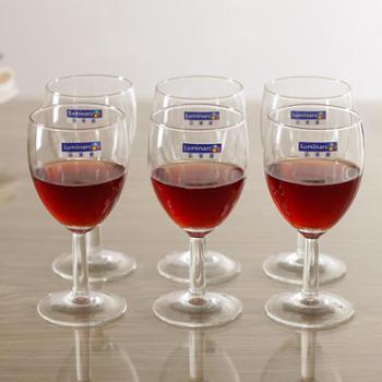 乐美雅实威高脚杯红酒杯葡萄酒杯140ml(6只装)E5872