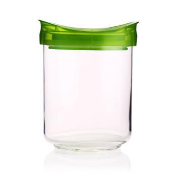 乐美雅乐宜厨玻璃密封储物罐0.8L