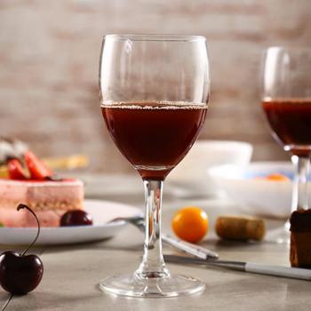 乐美雅优雅高脚杯红酒杯250ml(6只装)E5976