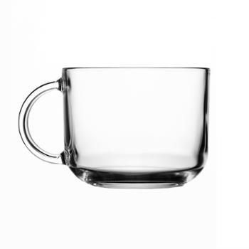 乐美雅钢化玻璃罗凯奶杯500ml(2只装)