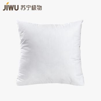 【苏宁极物】全棉绗缝撞色抱枕套