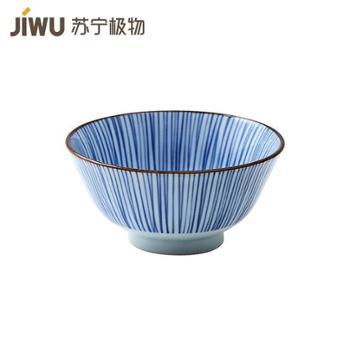 【苏宁极物】日本制造美浓烧陶瓷碗