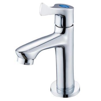 贝乐卫浴(ballee) B01 单冷台盆龙头 洗手盆快开水嘴 全铜水龙头