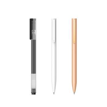 小米巨能写中性笔10支装0.5mm办公签字笔