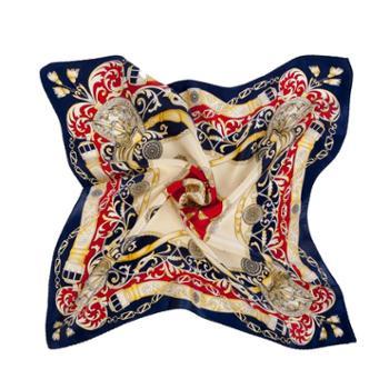 凯诗风尚丝之语桑蚕丝真丝围巾绸缎丝巾时尚方巾礼盒装