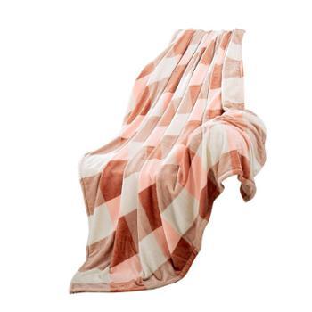凯诗风尚毛毯格兰风情法兰绒毯办公午睡毯