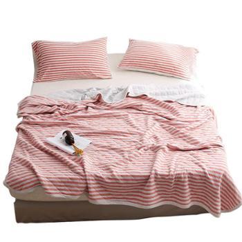 凯诗风尚日式针织天竺棉纯棉可水洗夏被盖被空调被夏凉被
