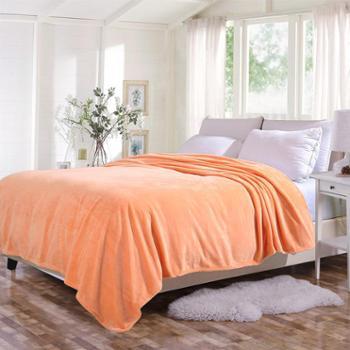 凯诗风尚精品法兰绒毯毛毯盖毯冬季床单舒适毯子欧美专柜同款